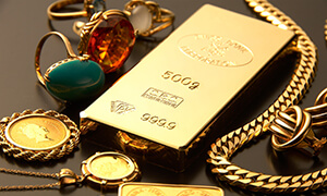 金・プラチナ・宝石を現金化